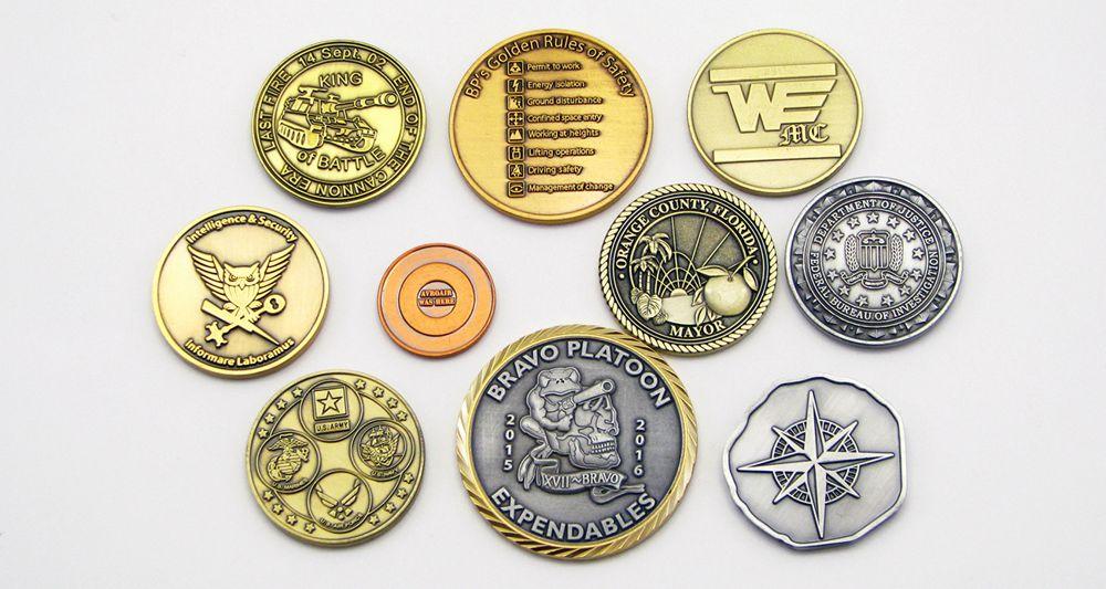custom challenge coins