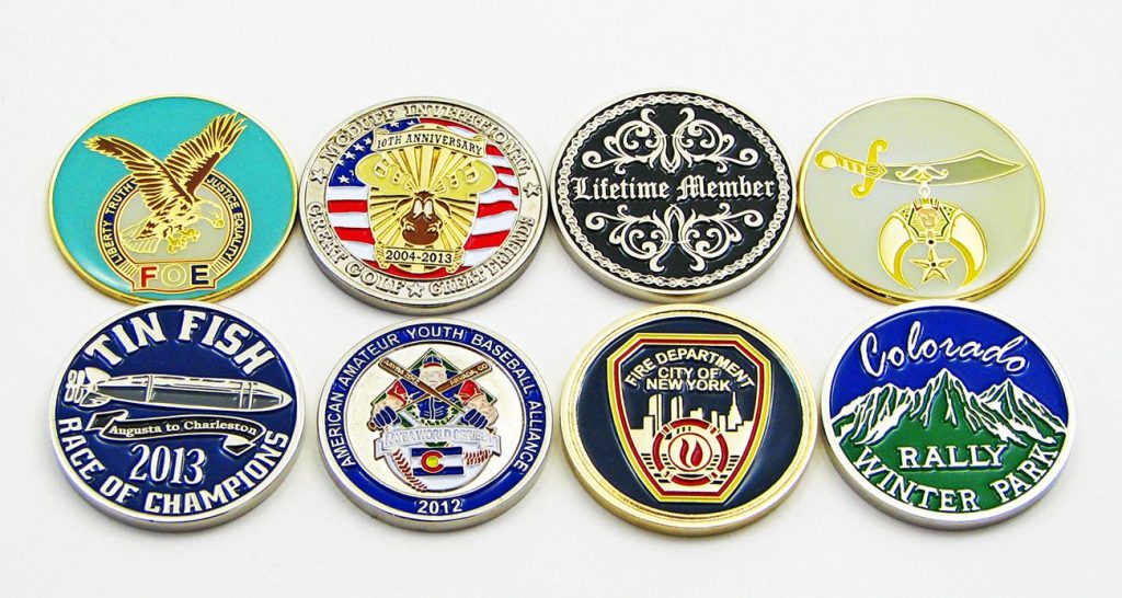 Custom Club Coins - Quality Challenge Coins - No Minimum