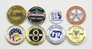 custom company coins
