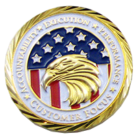 Company Challenge Coins