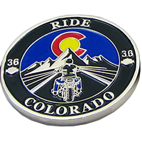 Motorcycle Challenge Coins