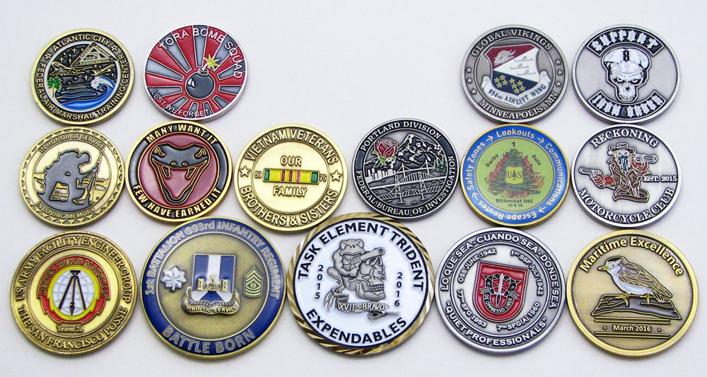 affordable custom challenge coins