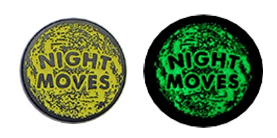 glow in the dark coins