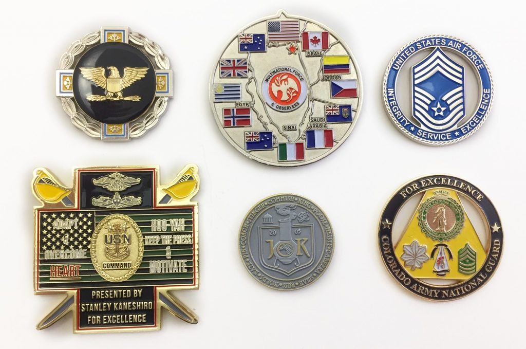 More Custom Coins - No Minimum - Quality Challenge Coins